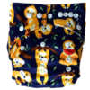 Hippybottomus-Stay-Dry-Natural-Nappy-Sloth