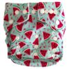 Hippybottomus-Stay-Dry-Natural-Nappy-Watermelon