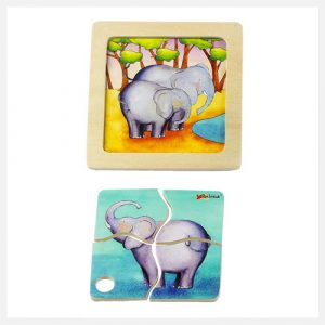 ARTIWOOD-Mini-Discovery-Elephant-Puzzle-(Pack-of-6)