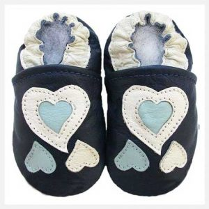 Softies-Blue-Hearts-Soft-Sole