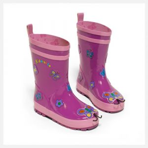 Kidorable Gum Boots Butterfly
