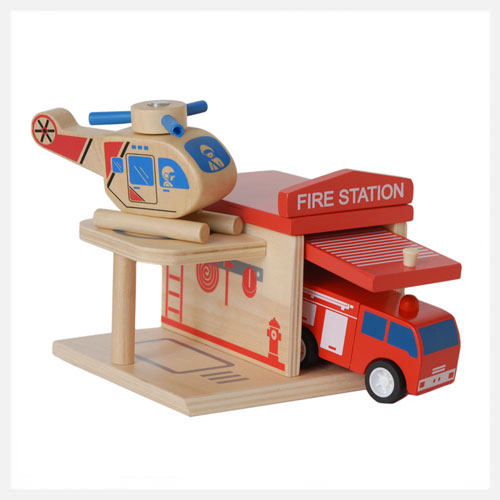Click Clack Toys Fire Station