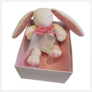Maud n Lil Rose The Pink Bunny in Box
