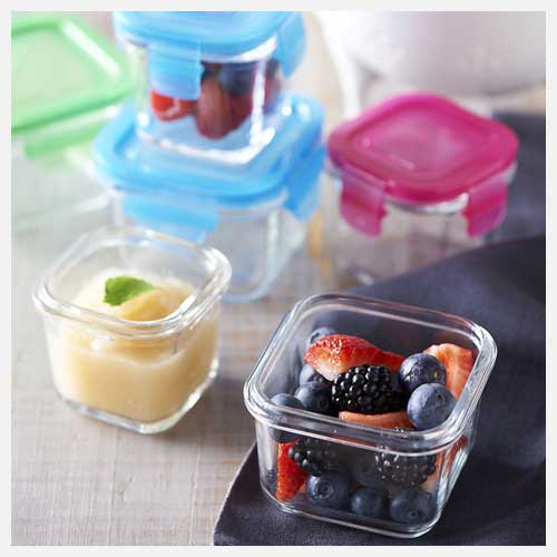 Littlelock Glasslock Tempered Glass Baby Food