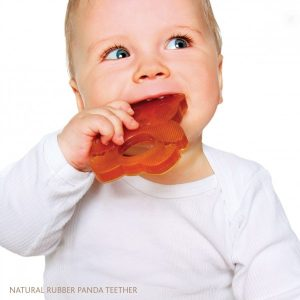 Hevea Panda Rubber Teether Kid