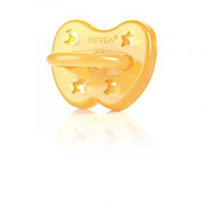 Hevea Star & Moon Natural Rubber Dummy