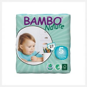 Bambo Nature Eco-Disposable Nappies Junior-12-22 kgs size 5