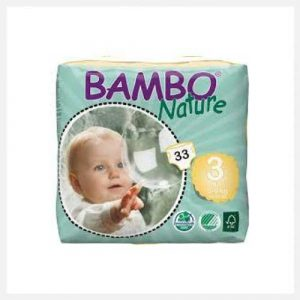 Bambo Nature Eco-Disposable Nappies Midi-5-9 kgs size 3