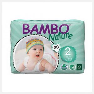 Bambo Nature Eco-Disposable Nappies Mini-3-6 kgs size 2