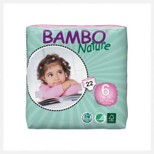 Bambo Nature Eco-Disposable Nappies XL 16-30 kgs size 6