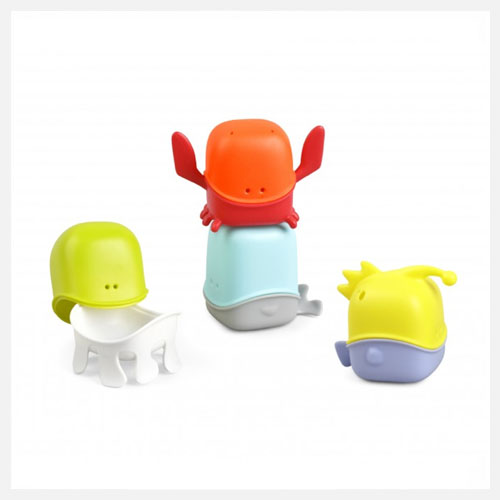 boon creature cups interchangeable bath toy at little