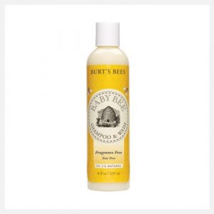 Burt's Bee Baby Bee Body Wash & Shampoo Fragrance Free 235ml