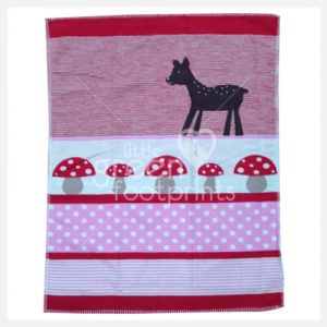 David Fusseneger - Red Bambi - Lena Bassinet Blanket - Side 2