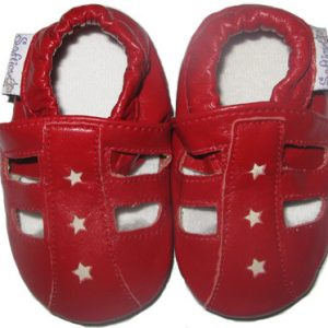 Softies_Little_Red_Sandle_Soft_Shoe