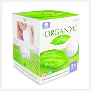 Organyc Baby Cotton Nursing Pads