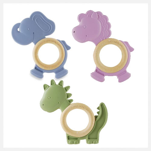 My Natural Eco Teether Natural Rubber Teething Toys