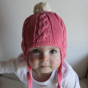 Fawn-&-Milk-Red-Circus-Organic-Cable-Knit-Baby-Beanie