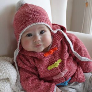 Fawn-&-Milk-Red-Circus-Organic-Hunt-&-Gather-Cable-Knitted-Baby-Beanie