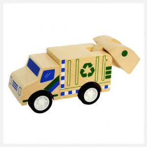 Click Clack Toys Recycle Truck
