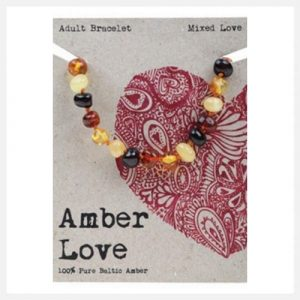 Amber Love Bracelet Mixed (Adult) 20cm