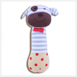 Apple Park - Boxer the Dog Organic Squeaky Toy