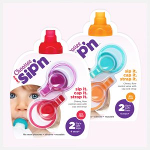 ChooMee's - Sip'n Silicone Lid (Fits 140ml Kai Carrier)