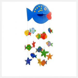 Goldfish Gifts Handmade Kissee Fish Mobile