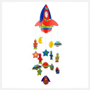 Goldfish Gifts Handmade Rocket Mobile