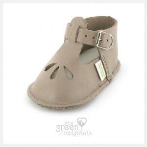 Mon Petit Chausson Baby Shoes Croiseur in Brown