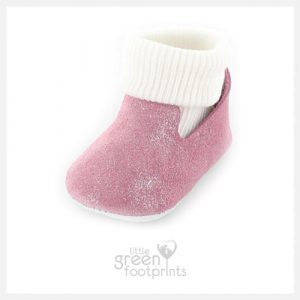 Mon Petit Chausson Baby Shoes DODOU in Pink