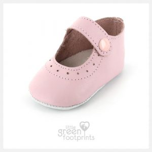 Mon Petit Chausson Baby Shoes Dauphin in Pink