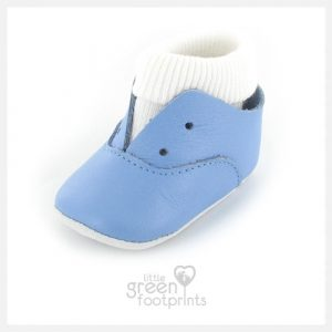 Mon Petit Chausson Shoes DIDA in Blue Sky
