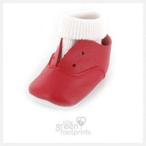 Mon Petit Chausson Shoes DIDA in Red