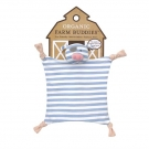 Organic Farm Buddies Pirate Pig Blankie(1)