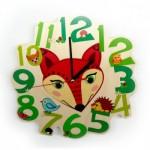 Hess-spielzeug-wall-clock-fox