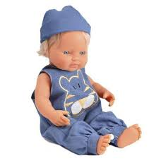 Miniland-Doll-Clothing-denim-jumpsuit