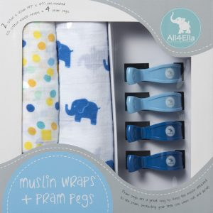 all4ella-pram-peg-muslin-wrap-set-blue-elephant-spots