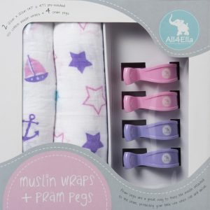 all4ella-pram-peg-muslin-wrap-set-pink-purple-star-nautical