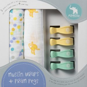 all4ella-pram-peg-swaddle-set-spots-monkeys