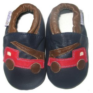 Softies-baby-shoes-red-fire-engine-soft-sole-1