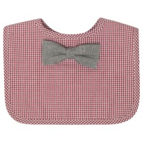 frenchie-red-gingham-bib-chambray-bowtie-baby-feeding