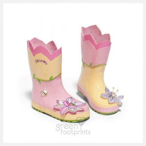 Kidorable Rain Boots Lotus Flower