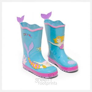 Kidorable Rain Boots Mermaid