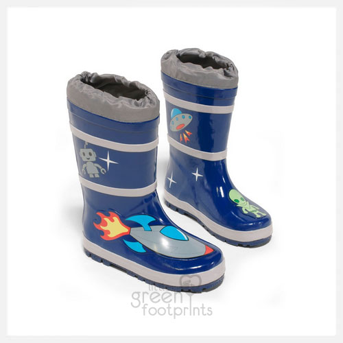 Kidorable Rain Boots Space