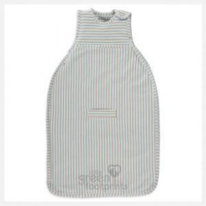 Merino Kids Duvet Weight Grey Blue Stripe