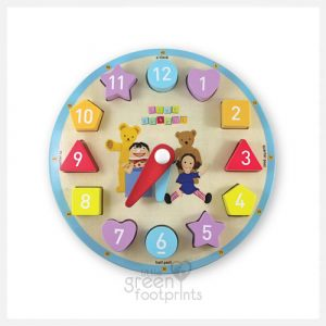 Discoveroo - Play School Clock Shape Sorter