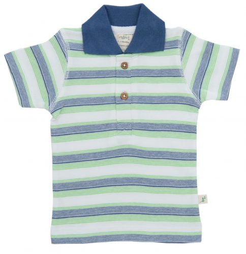 Cactus Stripes- Polo Tee