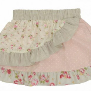 Arthur Ave- Cream frill - skirt