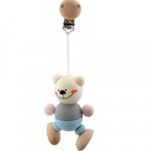 Hess-Spielzeug - Bear Clip Natural