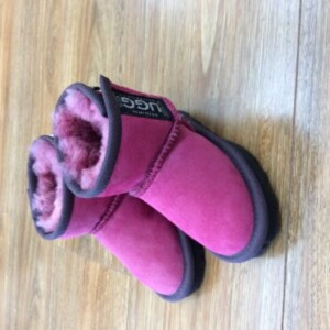 Original-UGG-boots-Dark-Pink-hard-sole